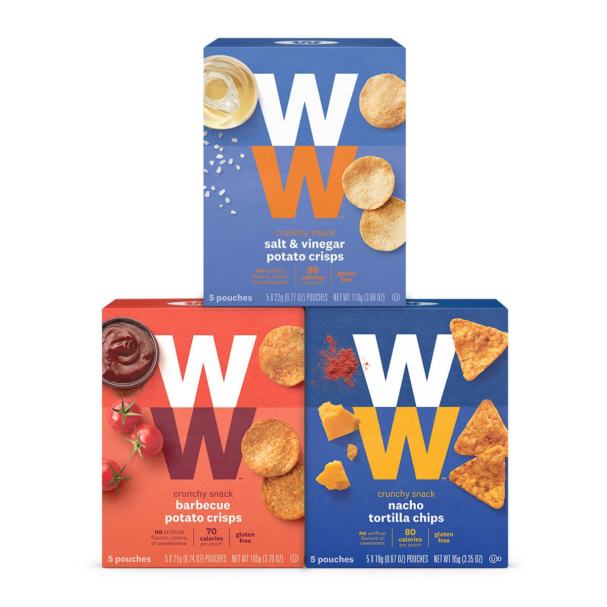 Crunchy Snack Classic Three Pack