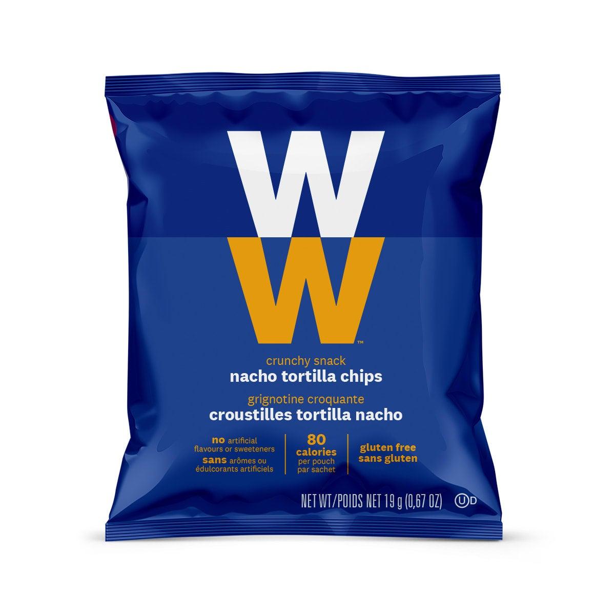 Nacho Tortilla Chips (3 Pack) - front of bag
