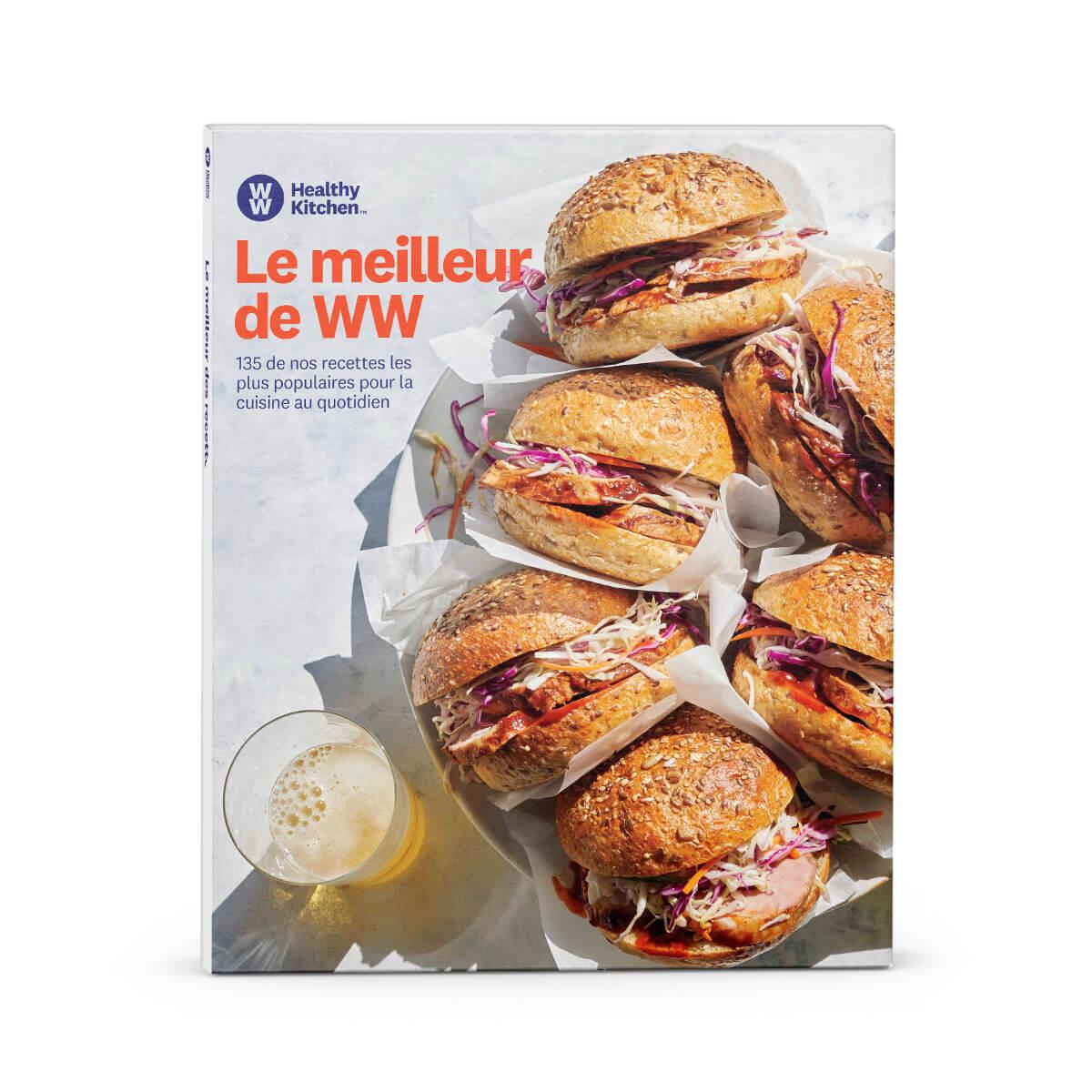 Livre de recettes Les meilleures recettes de WW - édition française