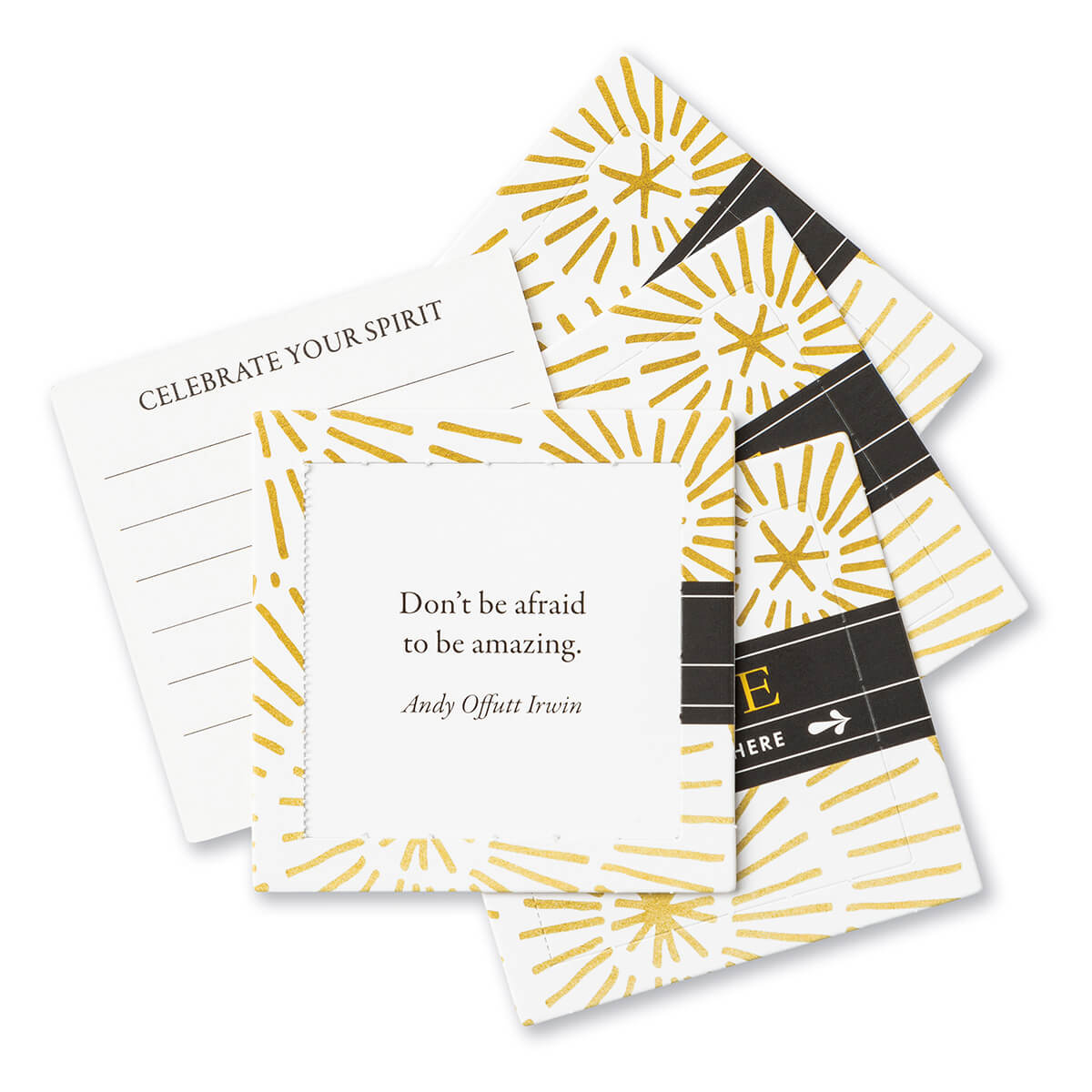 Thoughtfulls Shine Inspirational Cards - lifestyle