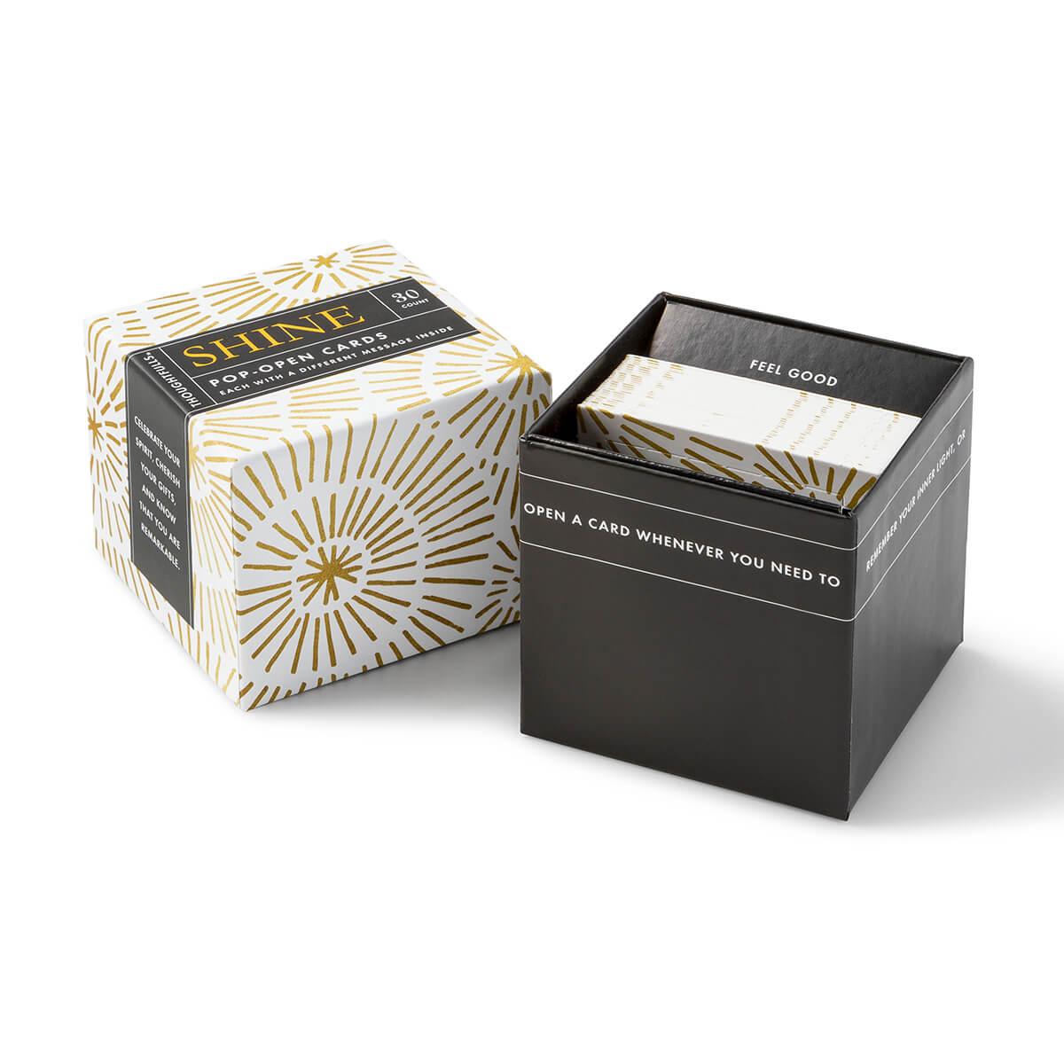 Thoughtfulls Shine Inspirational Cards - box
