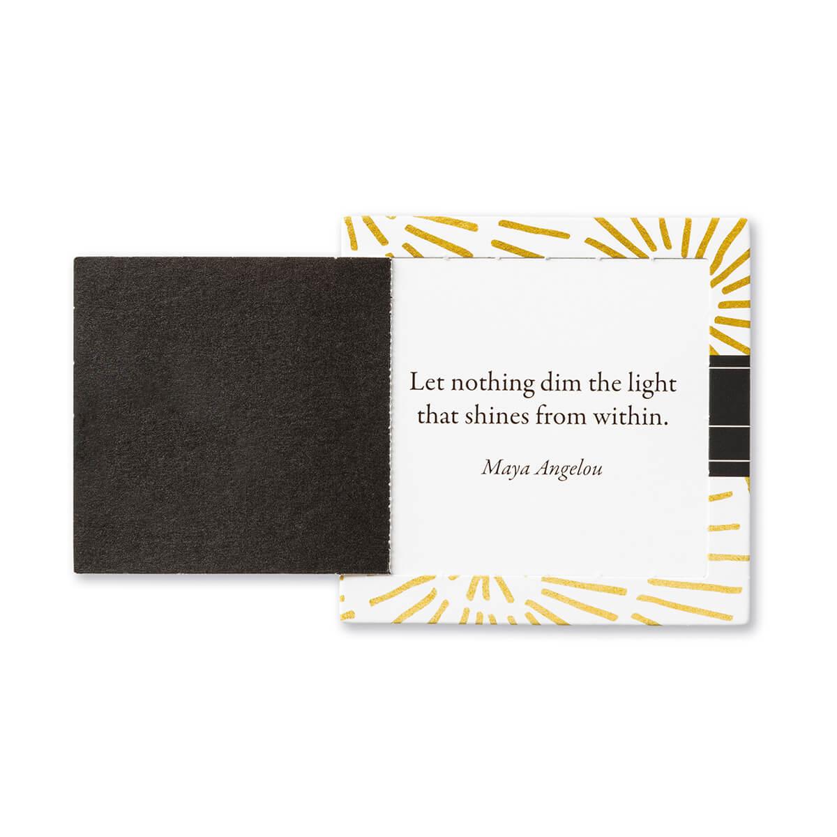 Thoughtfulls Shine Inspirational Cards - card