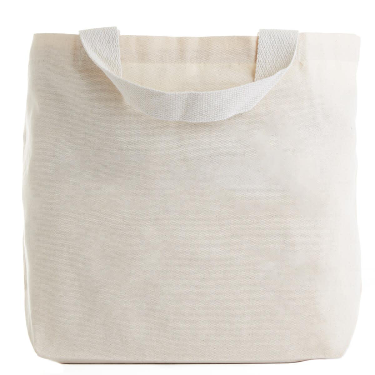 Reusable Cotton Tote - back