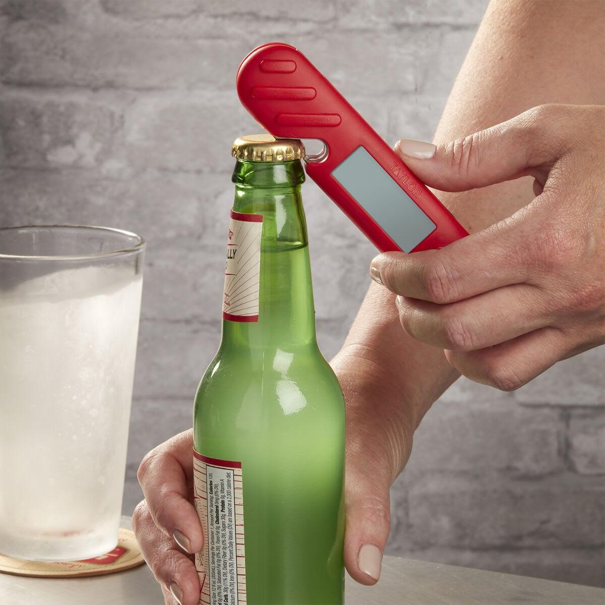 Taylor Digital Thermometer and Bottle Opener - bottle