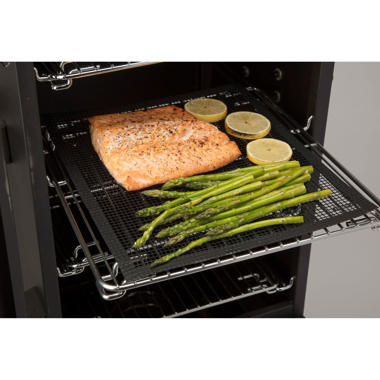 Cuisinart Smoker Mats - salmon on mat 2