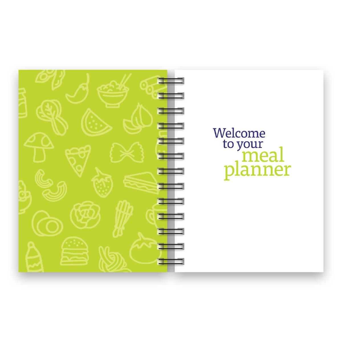 52 Week Meal Planner - page 1