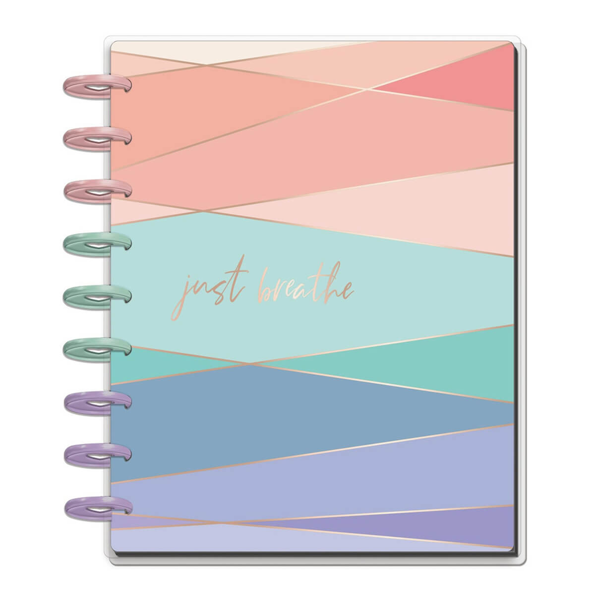 The Happy Planner Undated Wellness Planner - cover