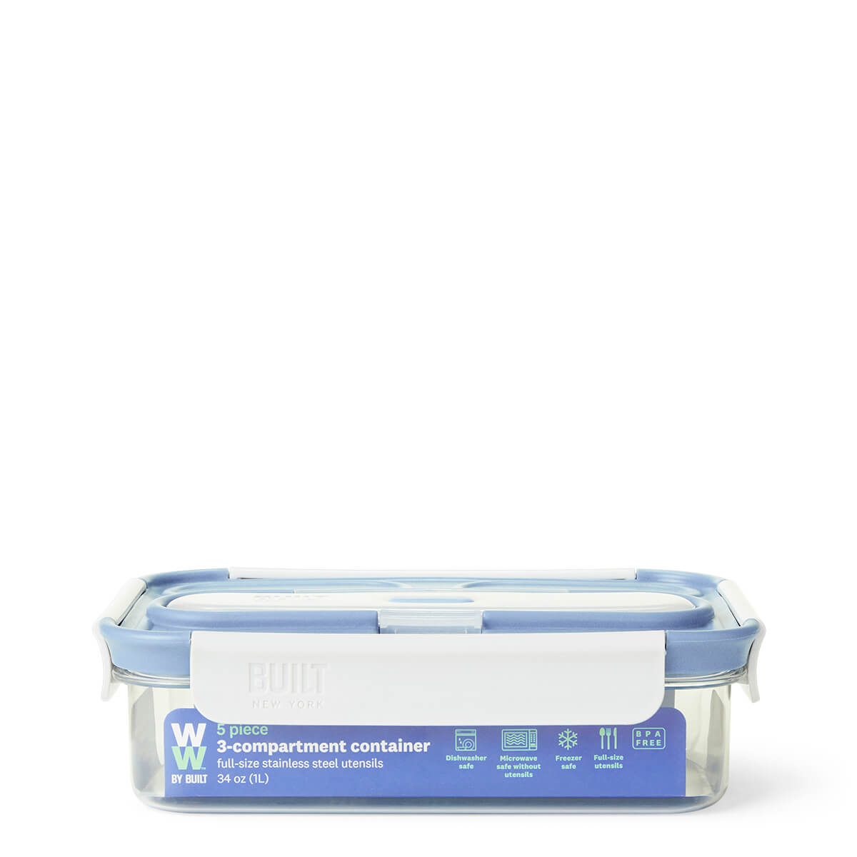 WW by Built 3 Compartment Container