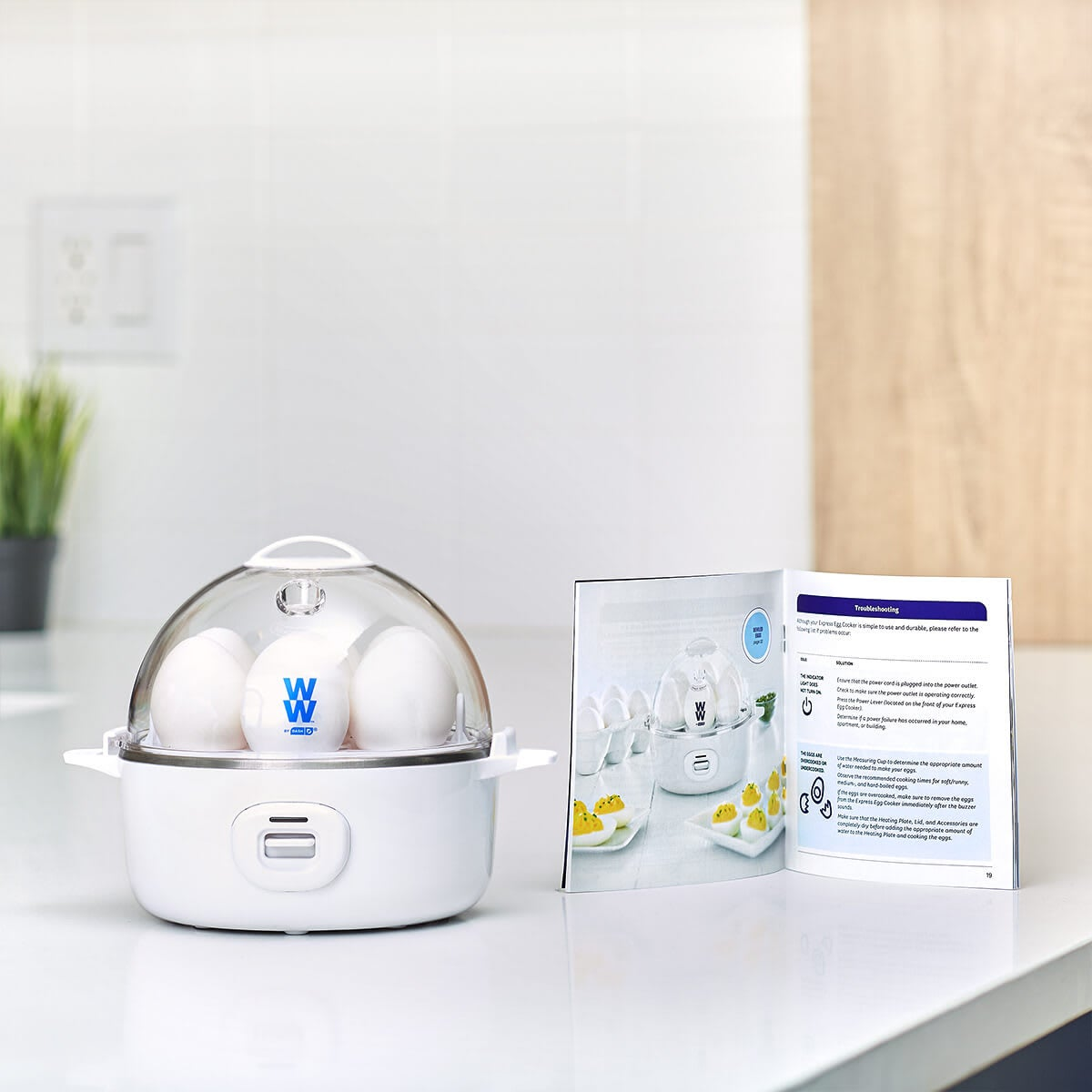 WW by Dash Express Egg Cooker - lifestyle