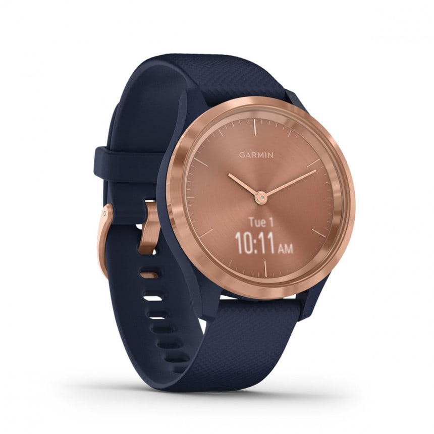 Garmin Smart Watch vivomove 3S Sport (roségold-blau)