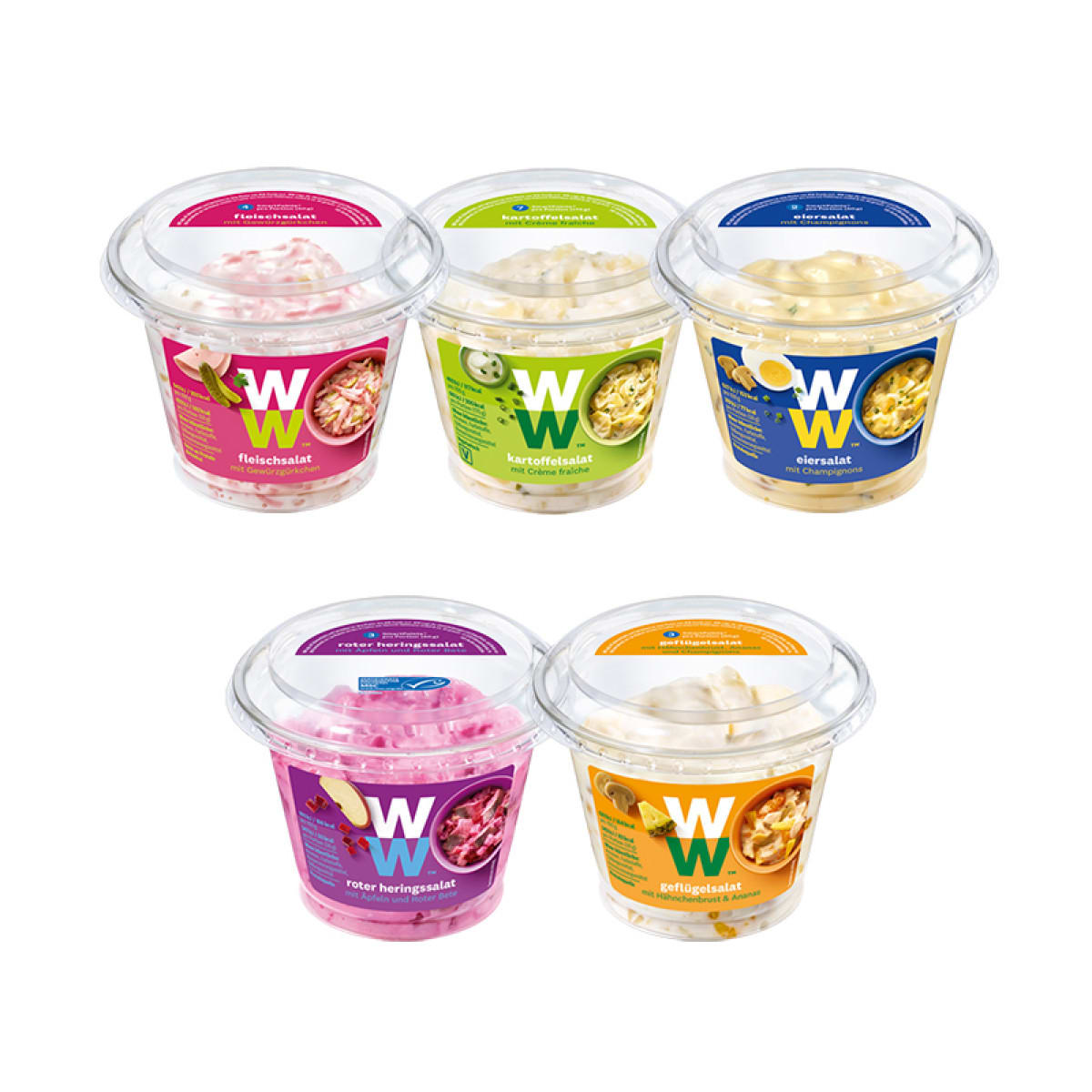 WW Feinkostsalate 5er Pack