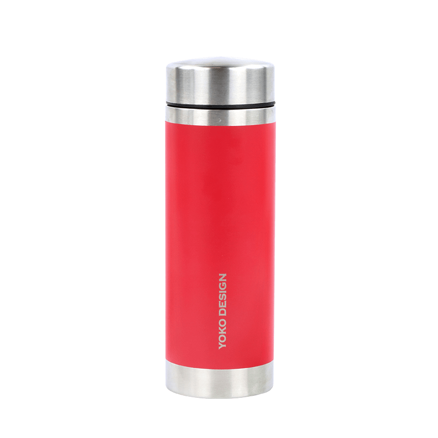 Gourde à infusion isotherme ww rouge