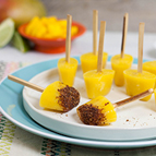 Mango Chili Lime Popsicles