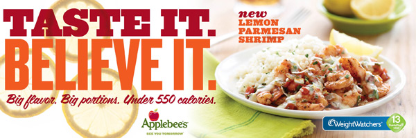 Applebee's sweet and savory grilled chicken ww points