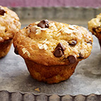 Banana Chocolate-Chip Mini Muffins