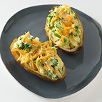 Broccoli and Cheddar Baked Potato