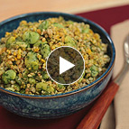 Freekeh with Favas and Dill