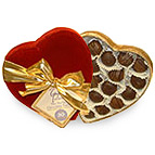 Heart Shaped box of Gayles Miracle Chocolates