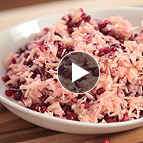 Celery Root and Pomegranate Salad