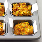 Savory Carrot Muffins