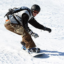 Lose weight snowboarding