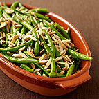 Sautéed String Beans with Almonds