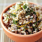 Toasted Quinoa Salad with Lemon and Herbs