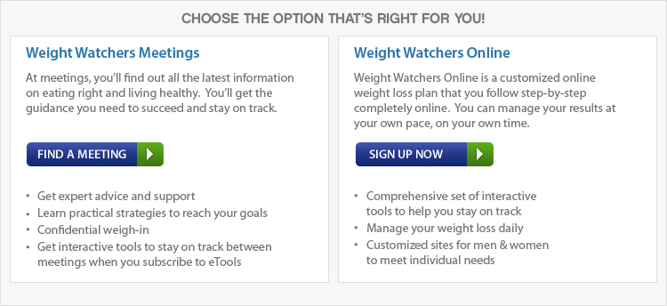 choose the option that's right for you
