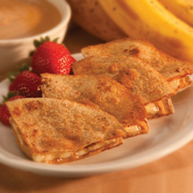 Peanut Butter & Banana Quesadilla