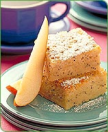 Photo of Pear poppy seed cake by WW