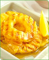 Photo of Pineapple with citrus sauce by WW