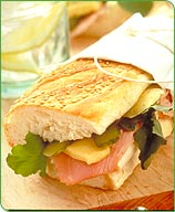 Photo of Grilled ham sandwich by WW