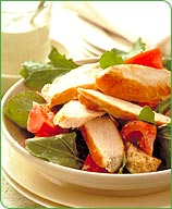 Photo of Italian grilled chicken and bread salad by WW