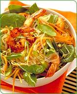 Photo of Asian shrimp salad by WW