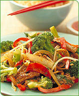 Photo of Peanut ginger beef stir-fry by WW
