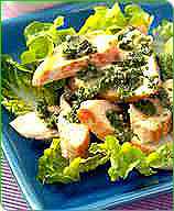 Photo of Grilled chicken with parsley-caper sauce by WW