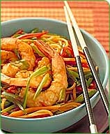 Photo of Shrimp and Vegetable Lo Mein by WW