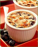 Photo of Blueberry almond creme brulee by WW