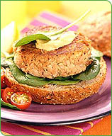 Photo of French-inspired tuna burgers by WW