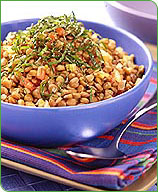 Photo of Lentils with garlic and tomatoes by WW