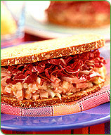 Photo of Ham and cranberry salad sandwiches by WW