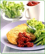Photo of Baked Chicken with Sun-dried Tomato Sauce by WW