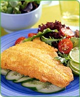 Photo of Cornmeal-breaded trout by WW