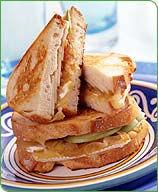 Photo of Grilled brie and apple sandwiches by WW