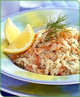 Photo of Havarti-dill smoked salmon risotto by WW
