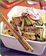 Photo of Chicken, scallion and artichoke stir-fry by WW