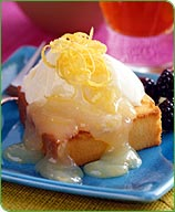 Photo of Toasted Poundcake with Warm Lemon Sauce by WW