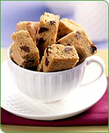 Photo of Chocolate-chip blondies by WW
