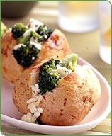 Photo of Broccoli-cheddar stuffed potato by WW