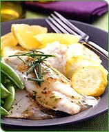 Photo of Lemon-chive sole with baked squash by WW
